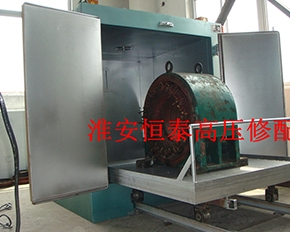 225KW 高压电机拆线