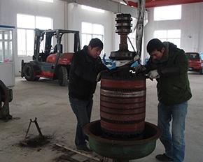 JR380KW 转子修理