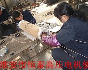 深井泵修理中