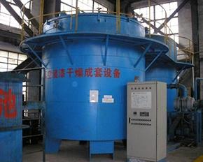 直径3米X3.2米高真空电机维修