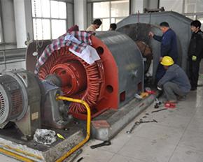 高压电机检修